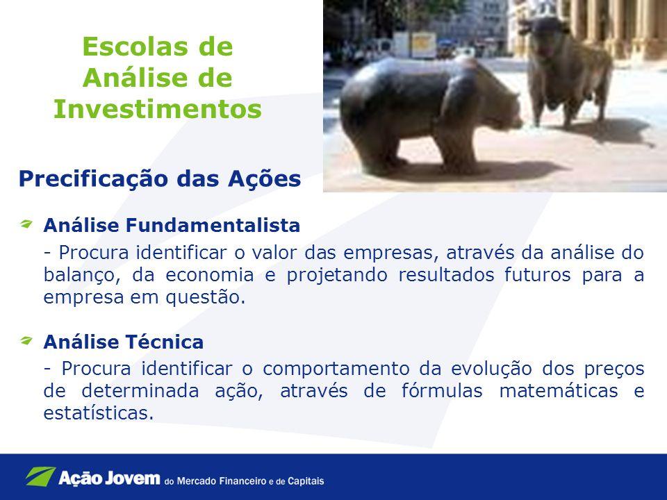 Escolas de Análise de Investimentos