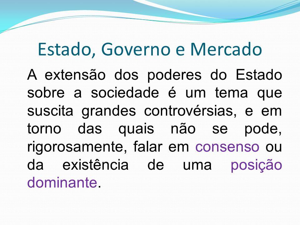 Estado, Governo e Mercado