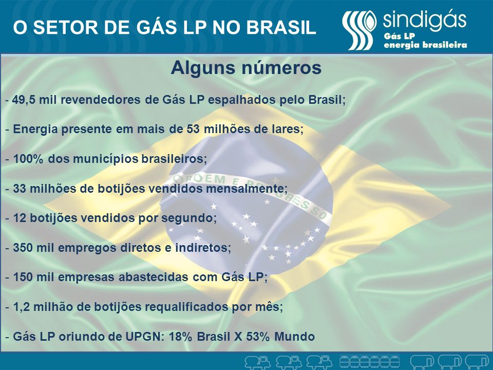 O SETOR DE GÁS LP NO BRASIL