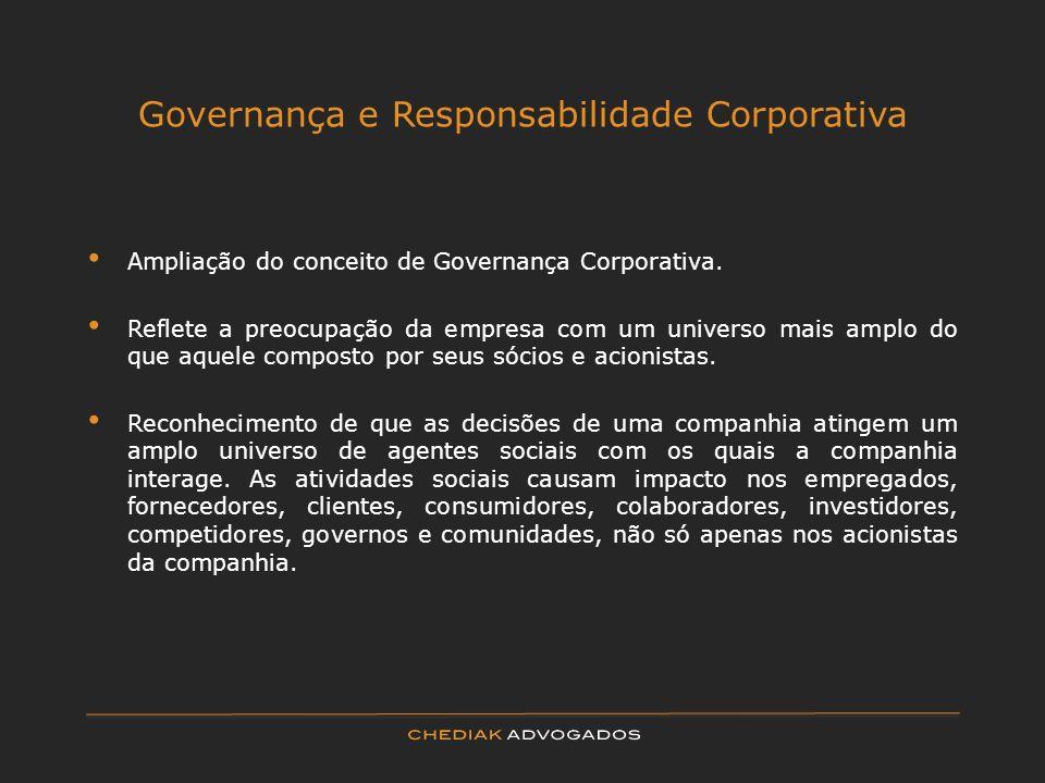 Governança e Responsabilidade Corporativa