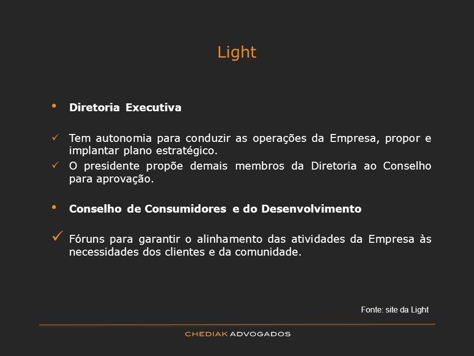 Light Diretoria Executiva