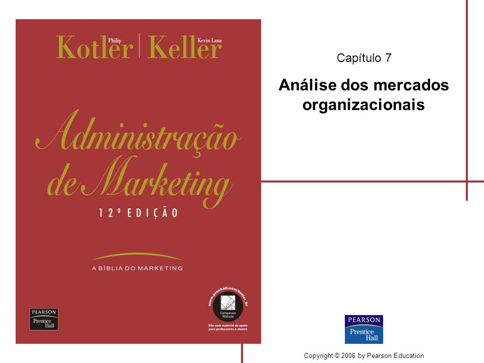 Capítulo 7 Análise dos mercados organizacionais