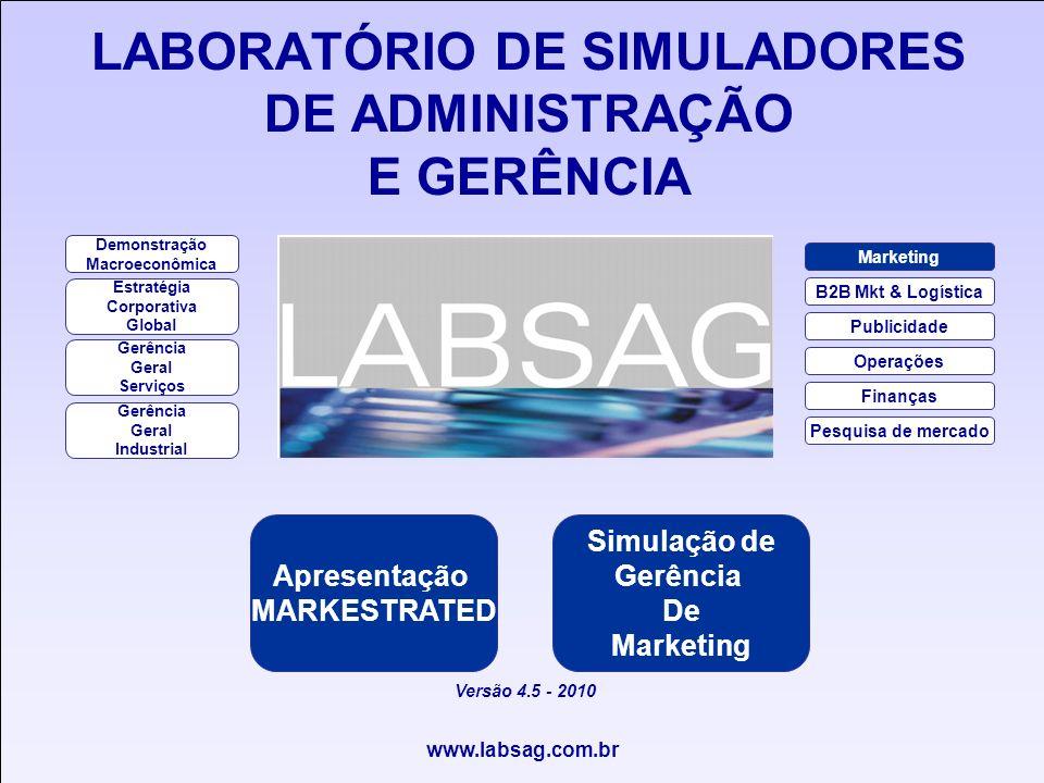 LABORATÓRIO DE SIMULADORES DE ADMINISTRAÇÃO E GERÊNCIA