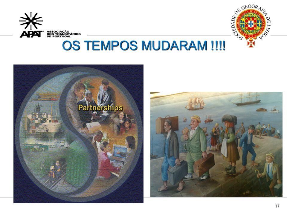 OS TEMPOS MUDARAM !!!!