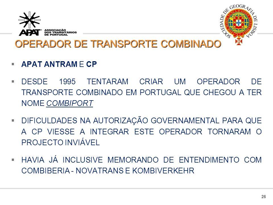 OPERADOR DE TRANSPORTE COMBINADO