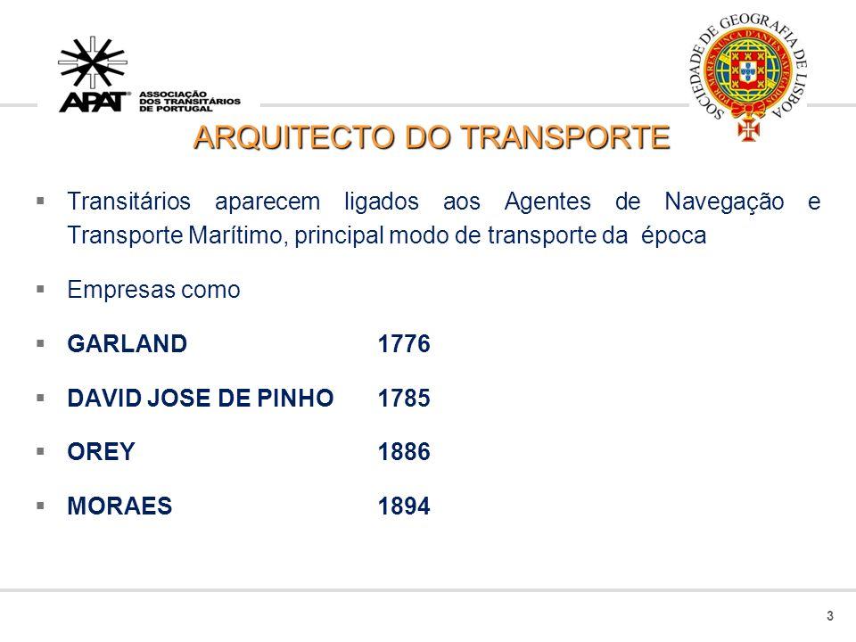 ARQUITECTO DO TRANSPORTE