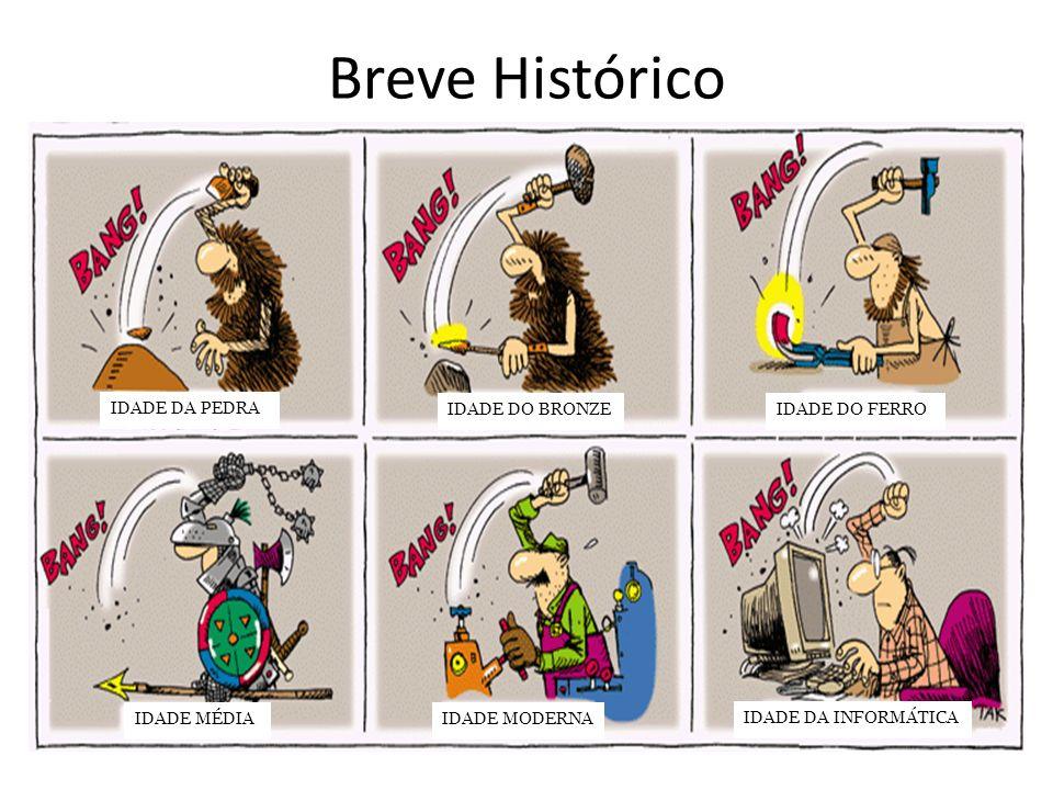 Breve Histórico IDADE DA PEDRA IDADE DO BRONZE IDADE DO FERRO
