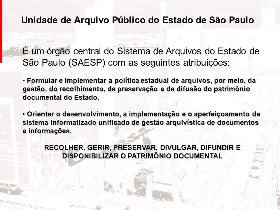 Unidade de Arquivo Público do Estado de São Paulo