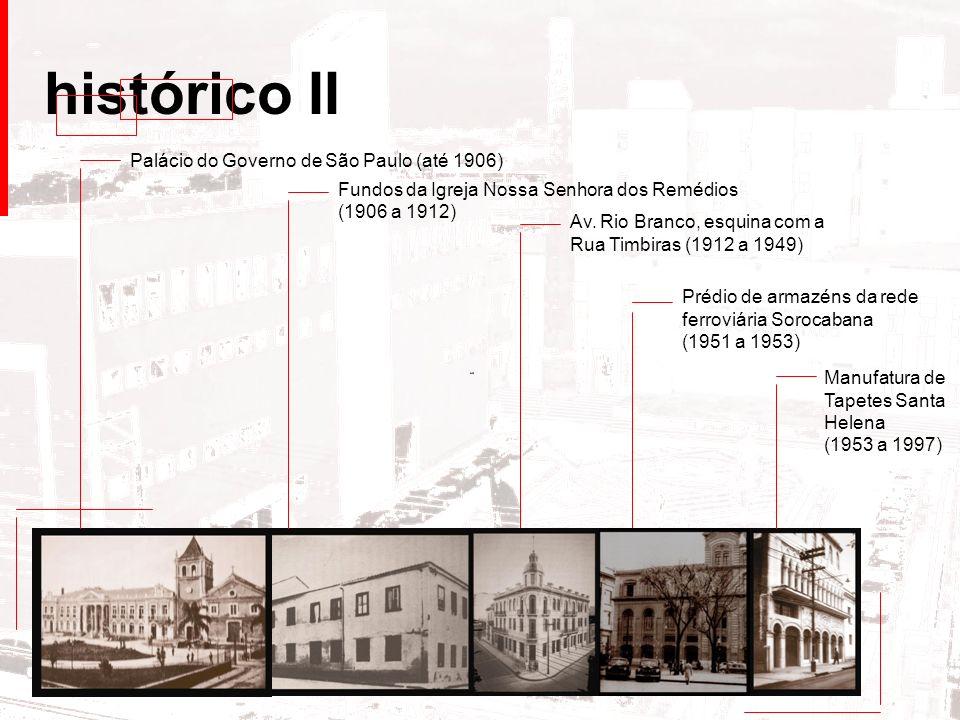 histórico II Palácio do Governo de São Paulo (até 1906)