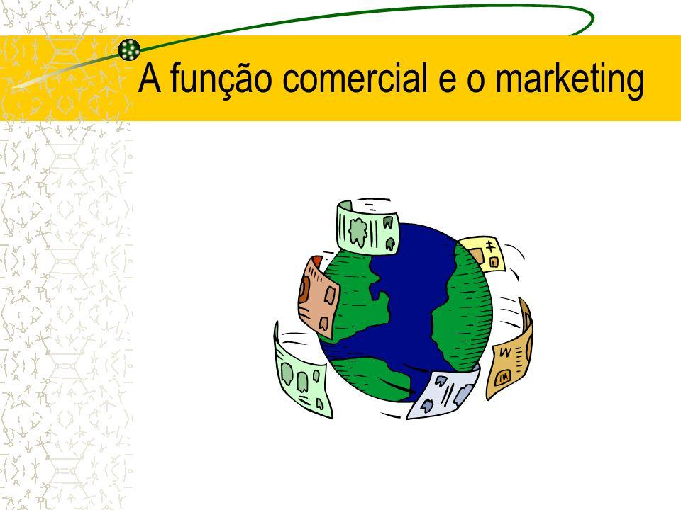 A função comercial e o marketing