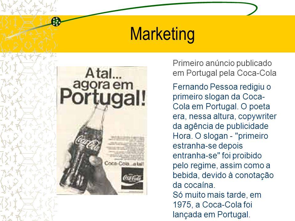 Marketing Primeiro anúncio publicado em Portugal pela Coca-Cola