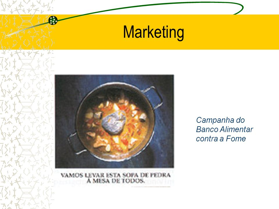 Marketing Campanha do Banco Alimentar contra a Fome
