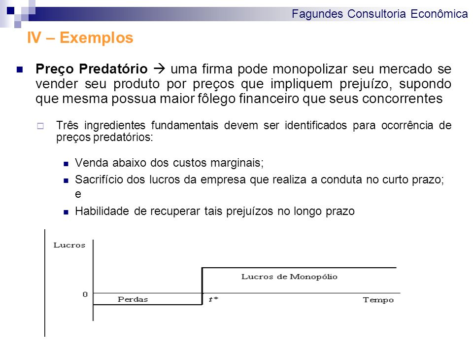 IV – Exemplos