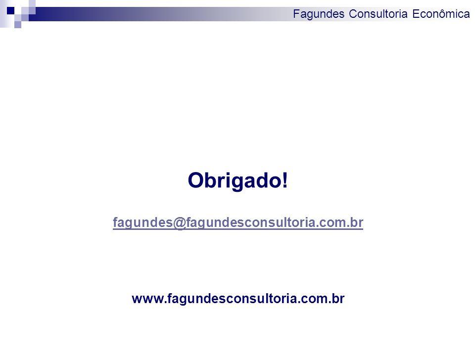 Obrigado! fagundes@fagundesconsultoria.com.br
