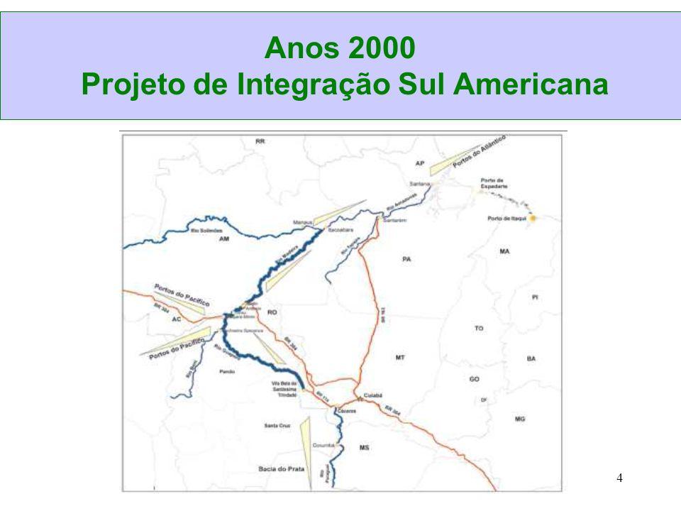 Anos 2000 Projeto de Integração Sul Americana