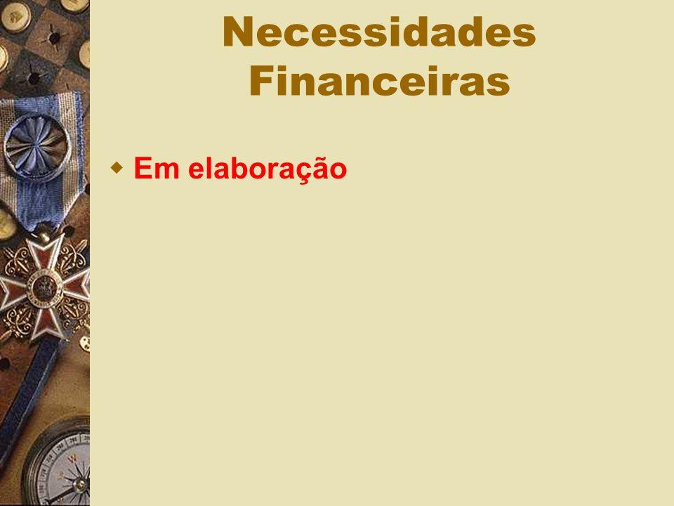 Necessidades Financeiras