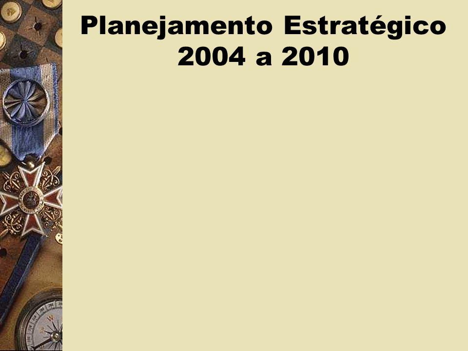Planejamento Estratégico 2004 a 2010