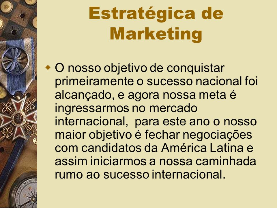 Estratégica de Marketing
