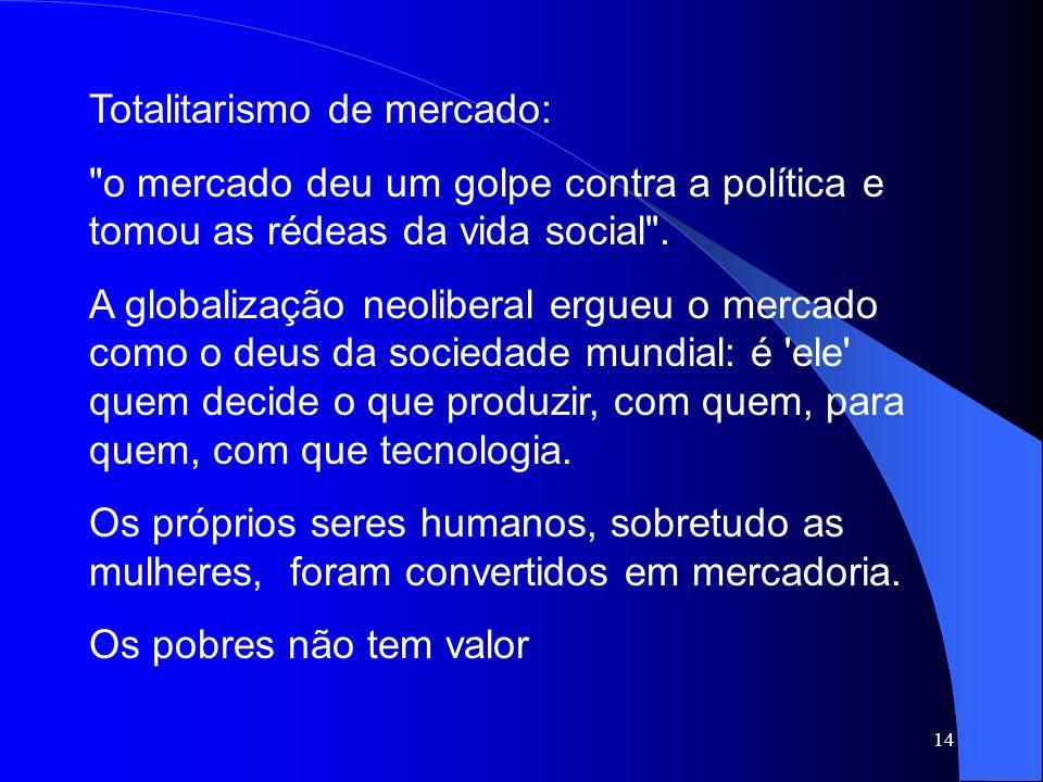 Totalitarismo de mercado: