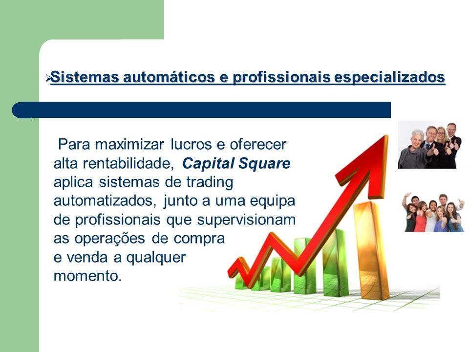 Sistemas automáticos e profissionais especializados