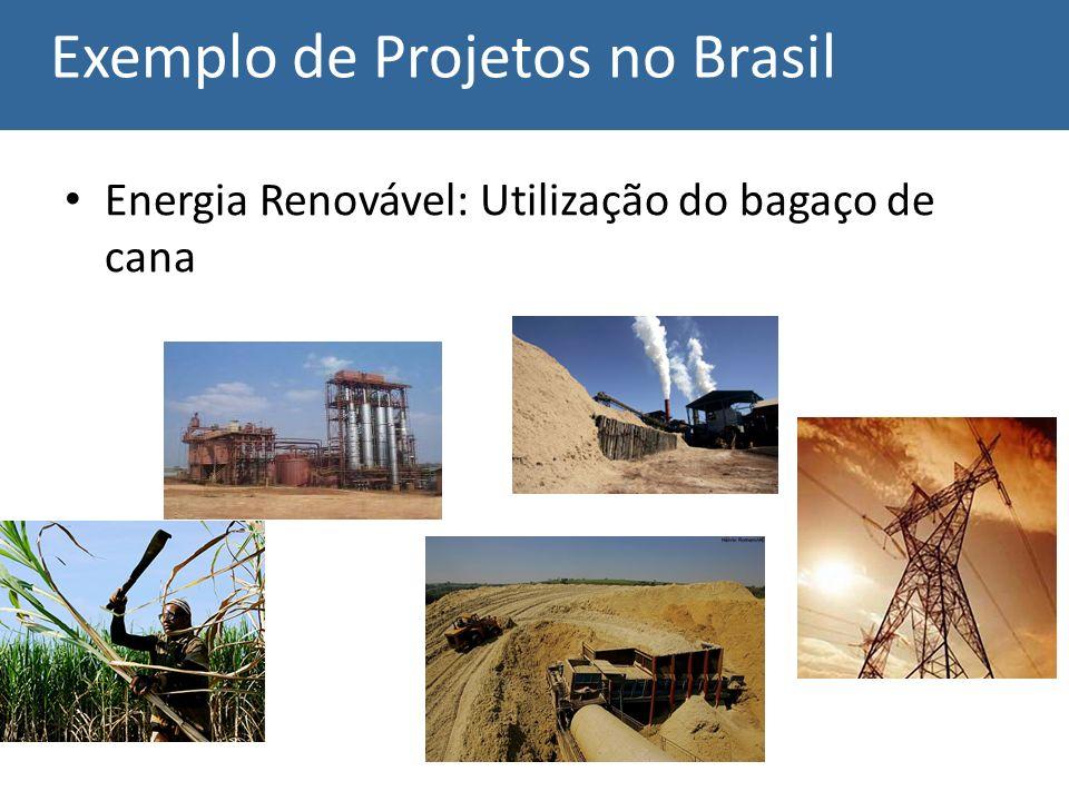Exemplo de Projetos no Brasil