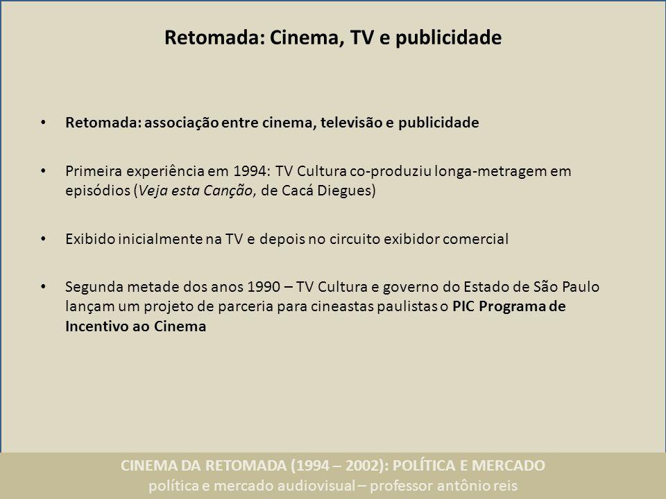 Retomada: Cinema, TV e publicidade