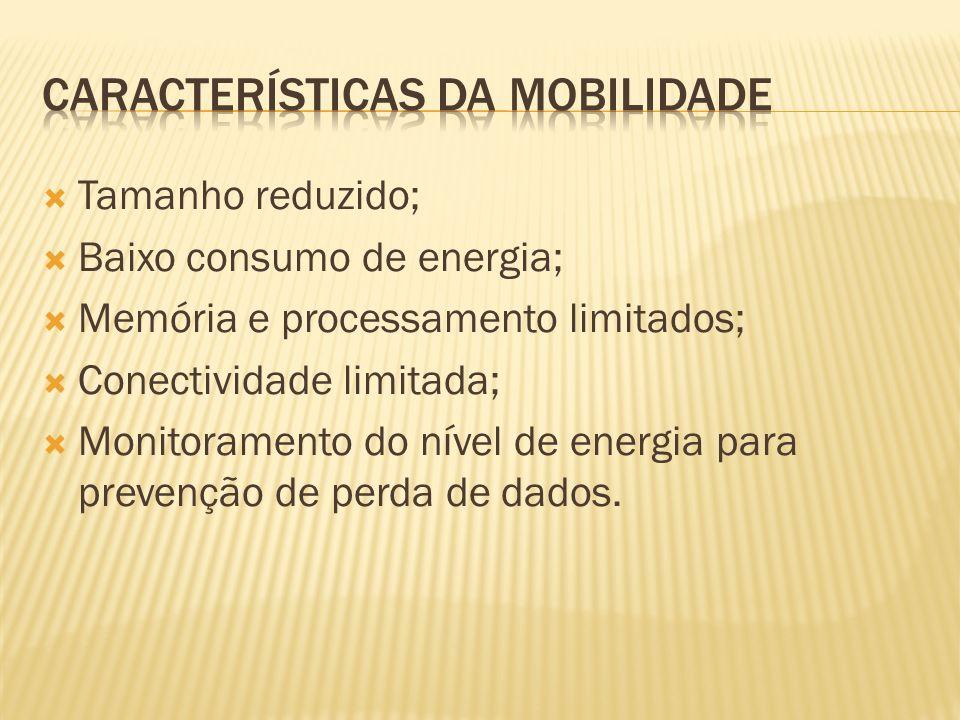 Características da Mobilidade