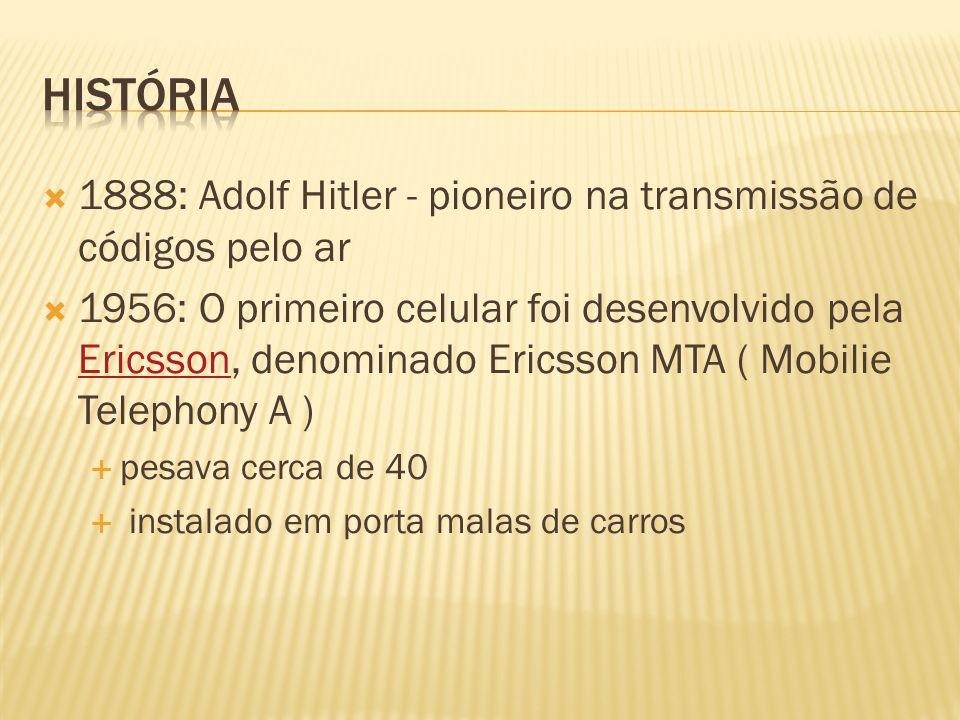 História 1888: Adolf Hitler - pioneiro na transmissão de códigos pelo ar.