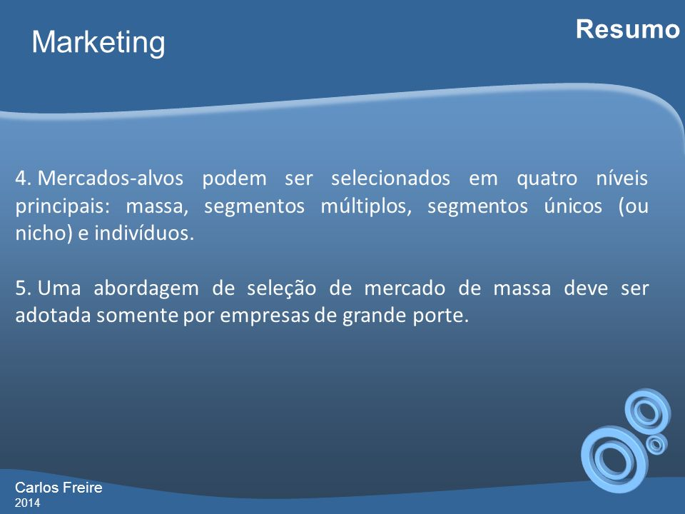 Resumo Marketing.