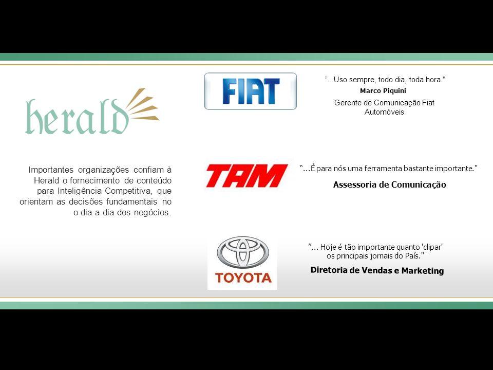 Assessoria de Comunicação Diretoria de Vendas e Marketing