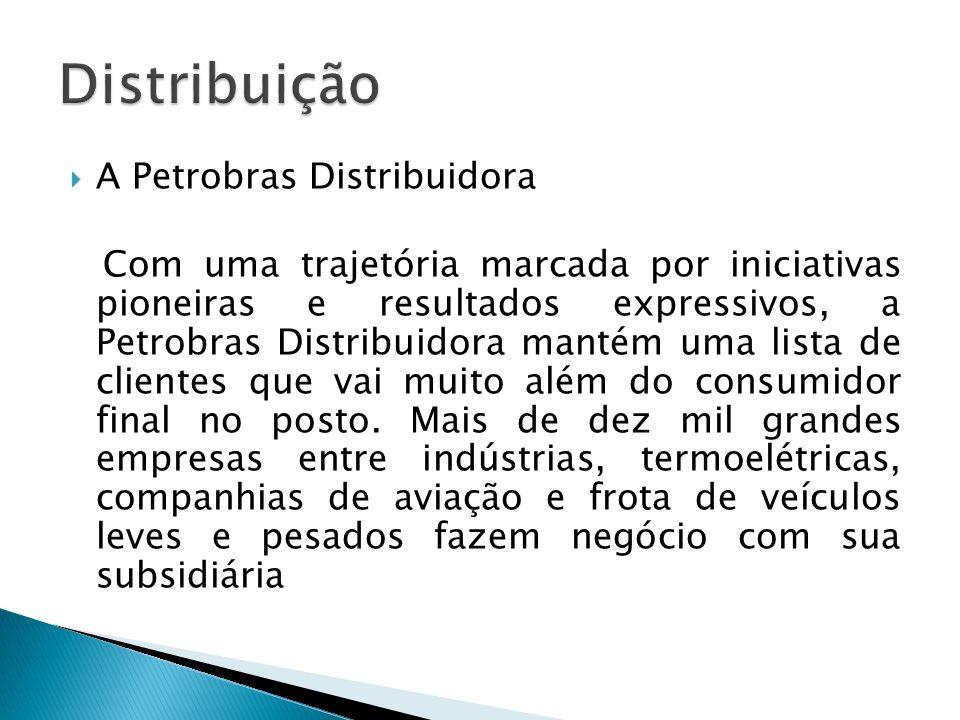 Distribuição A Petrobras Distribuidora
