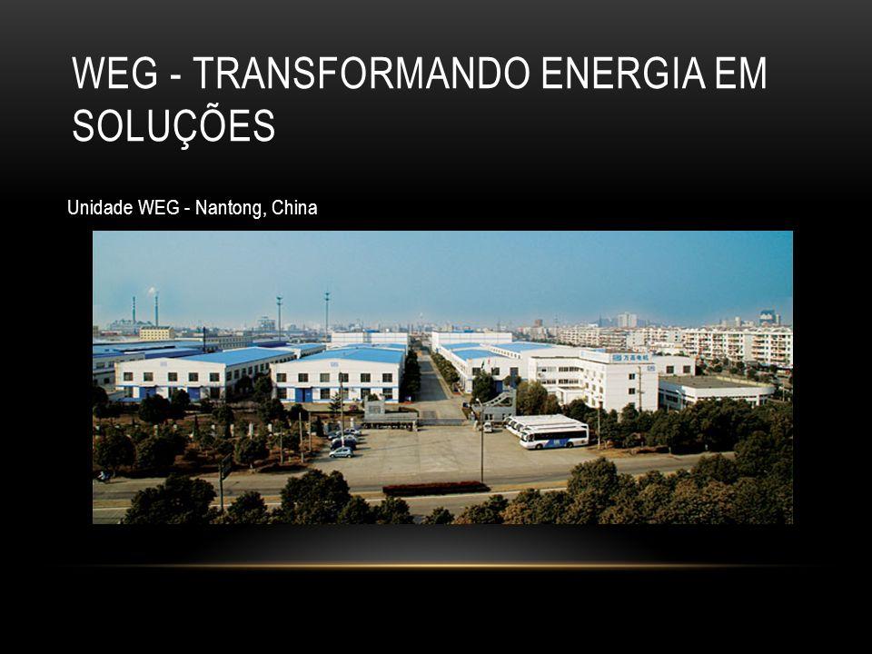 WEG - Transformando Energia em Soluções