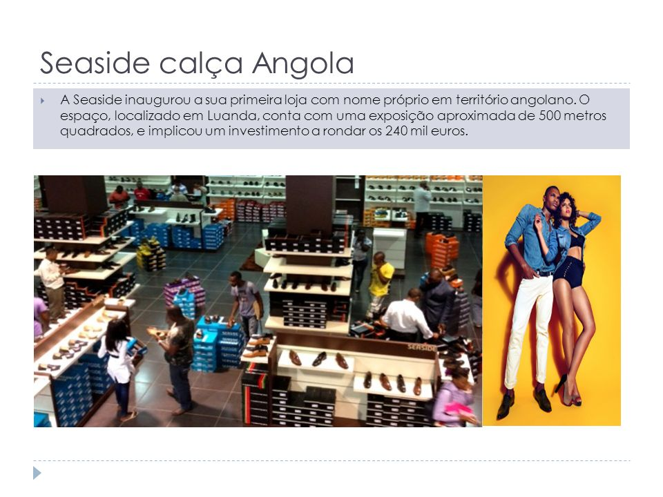 Seaside calça Angola