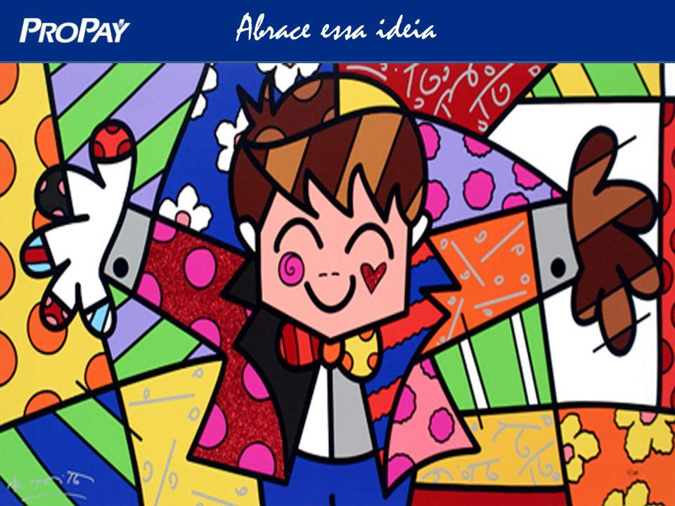 Abrace essa ideia ProPay & Arte Criança