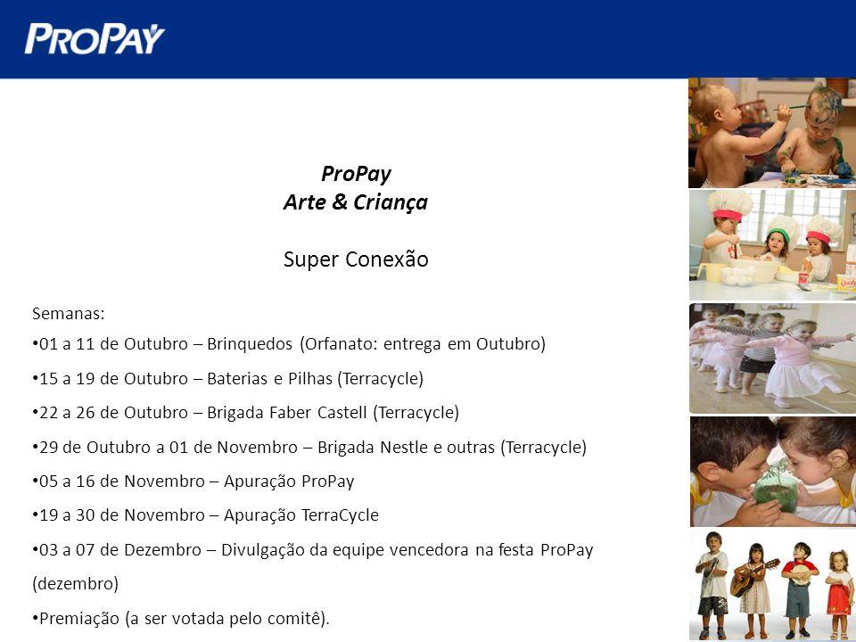 ProPay Arte & Criança Super Conexão Semanas: