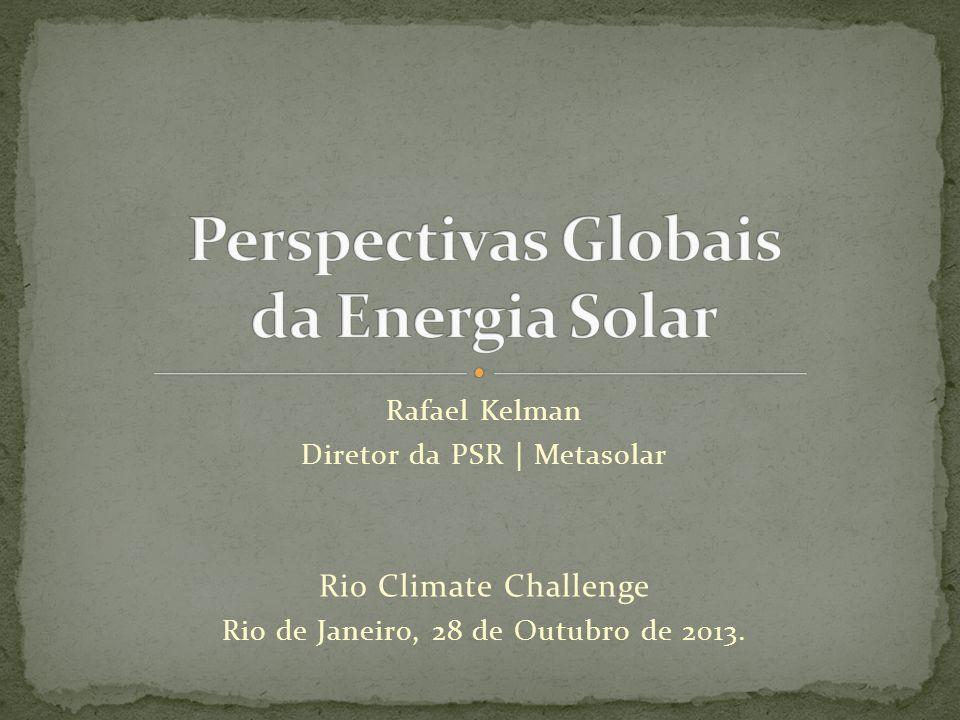 Perspectivas Globais da Energia Solar