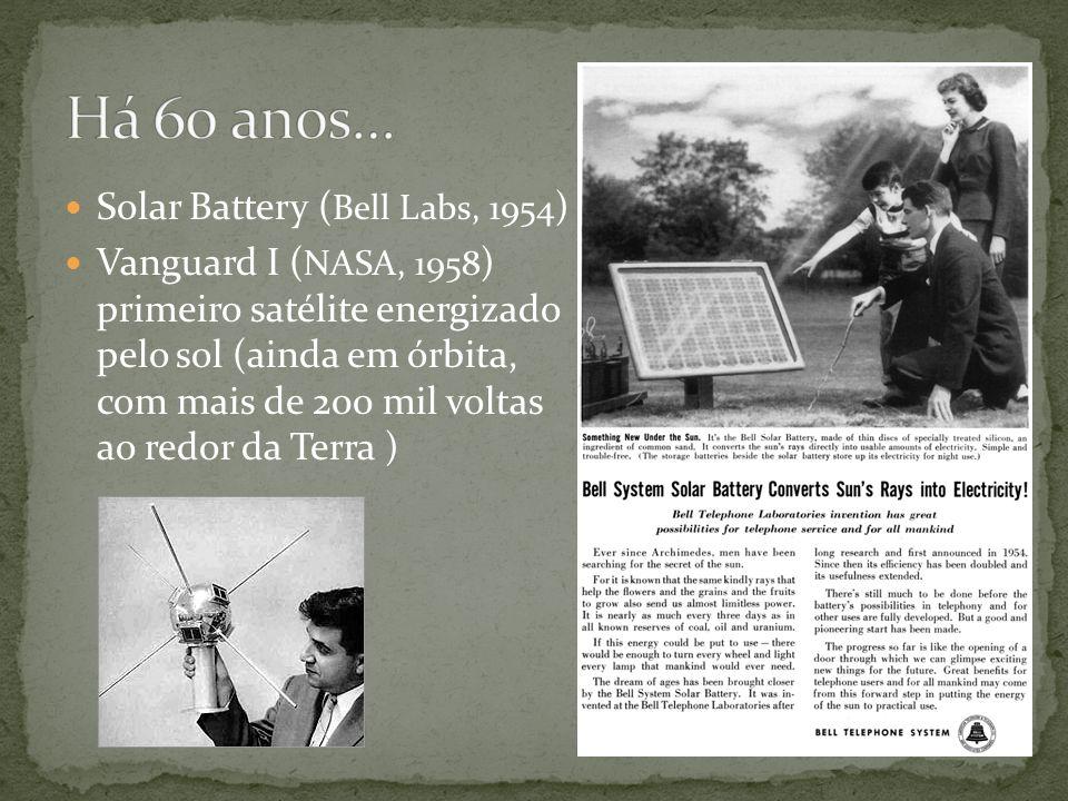 Há 60 anos… Solar Battery (Bell Labs, 1954)