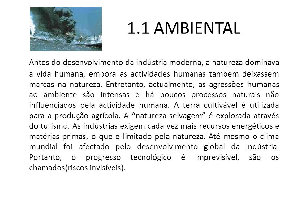1.1 AMBIENTAL