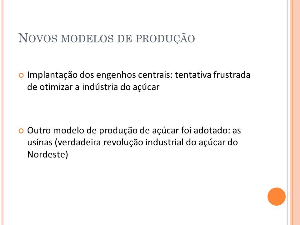 Novos modelos de produção