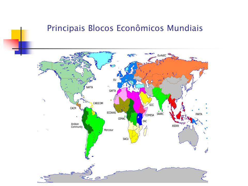 Principais Blocos Econômicos Mundiais