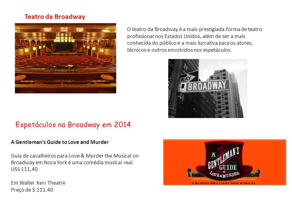 Espetáculos na Broadway em 2014