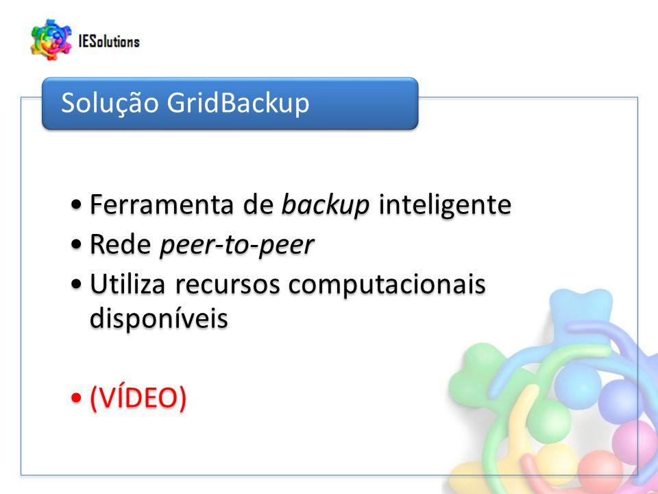 Ferramenta de backup inteligente