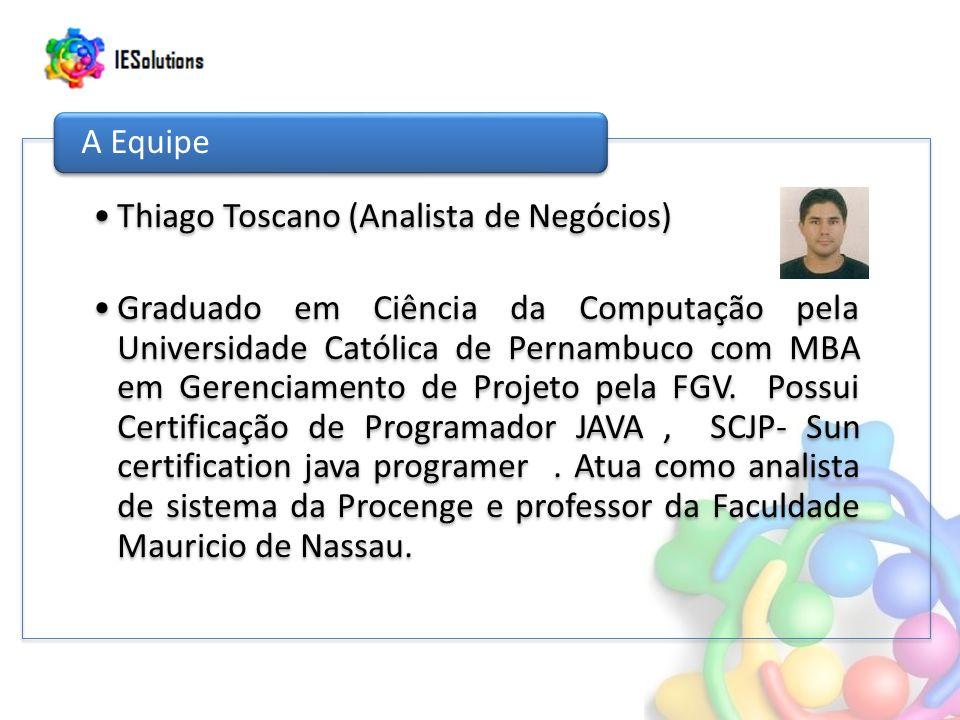 Thiago Toscano (Analista de Negócios)