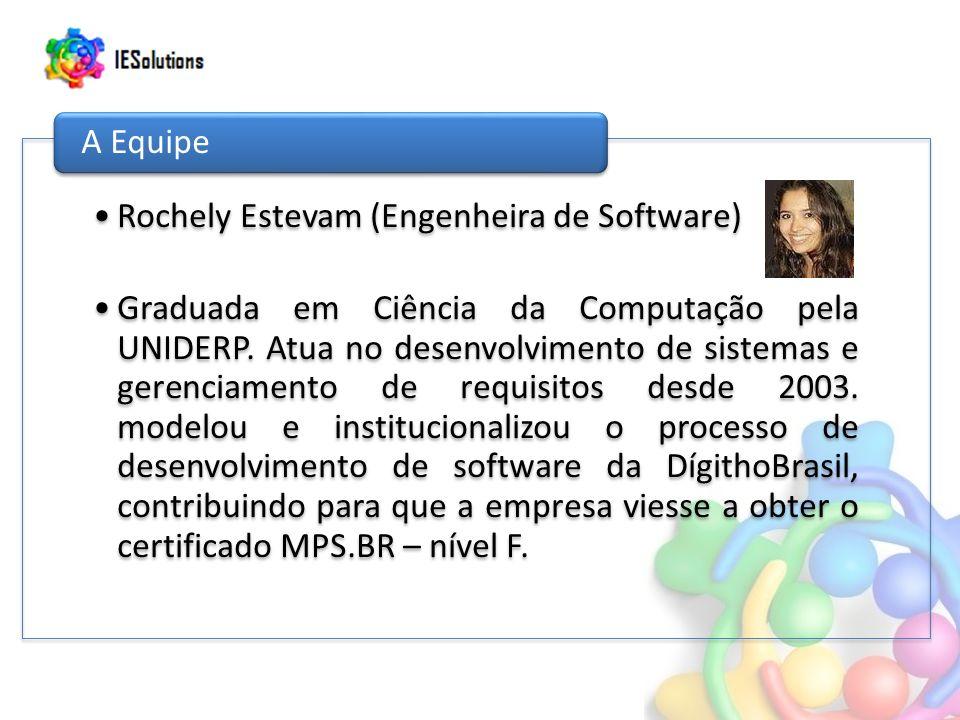 Rochely Estevam (Engenheira de Software)