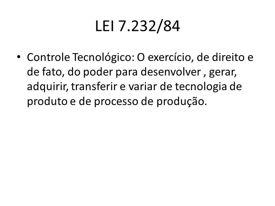 LEI 7.232/84