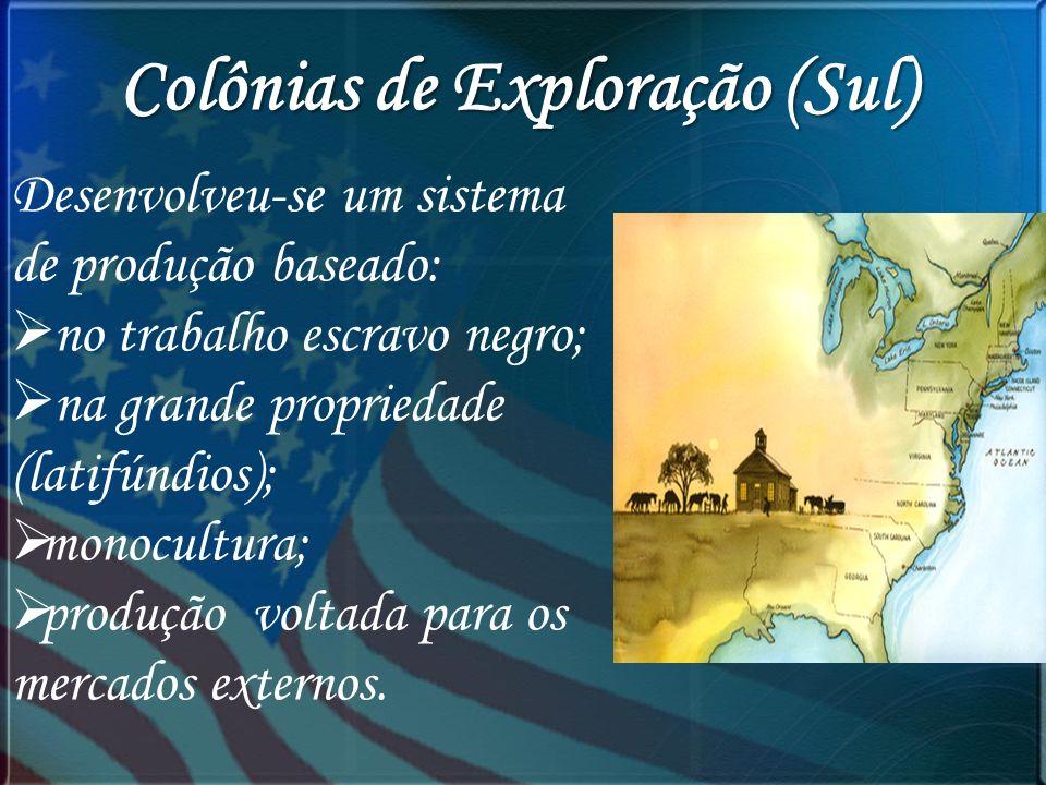 Colônias de Exploração (Sul)