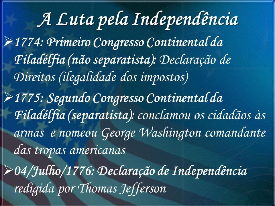 A Luta pela Independência