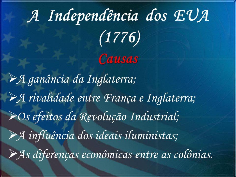 A Independência dos EUA (1776)