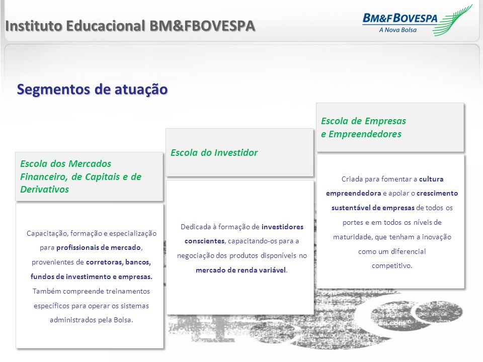 Instituto Educacional BM&FBOVESPA