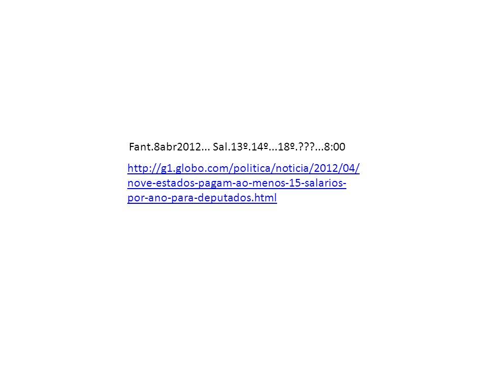 Fant.8abr2012... Sal.13º.14º...18º. ...8:00